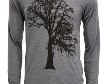 Oak Tree | Long Sleeve T Shirt | Soft lightweight | Father's day gift