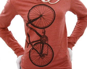 Bicycle | Lightweight Pullover hoodie | Soft organic cotton blend