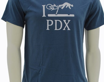 Portland Bike | Men's classic T Shirt | I Crash PDX funny wipeout