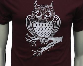 Owl bird - Men's regular T Shirt - up to 5XL