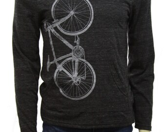 Bicycle - Lightweight Pullover hoodie - soft organic cotton blend