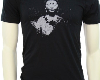 Siddhārtha Gautama Buddha - Soft Lightweight T Shirt - Crew and V-neck - Yoga apparel