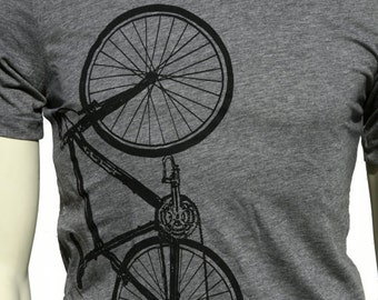 Bicycle | Soft Lightweight T Shirt | Crew and V-neck