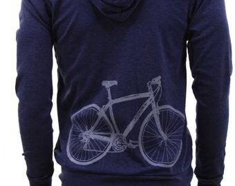 Bicycle - Soft Lightweight full zip hoodie - sweatshirt