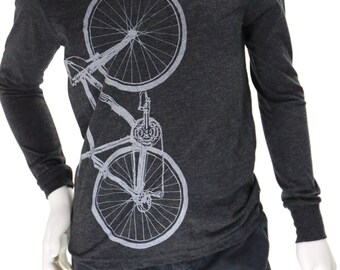 Bicycle   Youth Long-Sleeve Soft Lightweight T-Shirt   Bike   Cyclist   Kid's long-sleeve tees   Sport apparel.