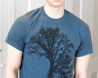 Oak tree | Men's classic T Shirt | Art by Matley | sizes Small to 5XL