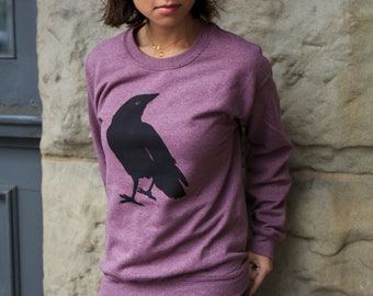 Crow | Crew neck Sweatshirt | Bird | Classic unisex sweatshirt | Raven bird