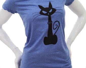 Cat - Soft lightweight slim fit T Shirt