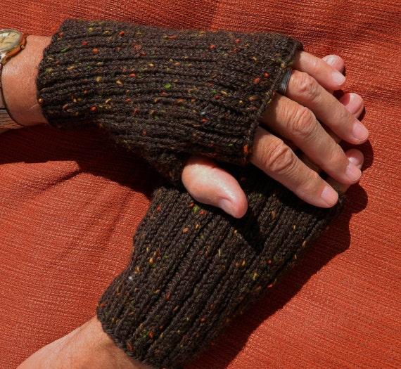 Mens Fingerless Gloves Pattern Pdf 1113fg Texting Gloves Etsy