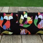 Fox gift-wallet clutch-iPhone wallet-vegan wallet-foxes-fun gift-women wallet-wallet for women-gift for woman