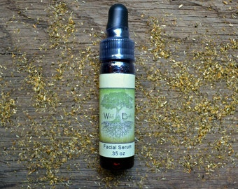 Facial Serum: Luscious Hydrating Night Time Face Oil with Therapeutic Essential Oils, Hempseed, Jojoba, Sweet Almond, Castor & Grapeseed Oil