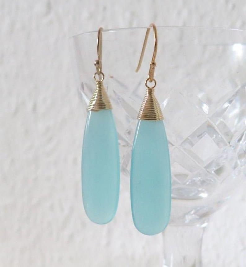 Seafoam Earrings,Beach Wedding,pastel Aqua Blue Earring,Holiday Gift Idea,Wirewrapped Sea Glass Earrings,dangle Feminine Delicate Jewelry