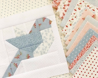 Feathers Quilt Pattern PDF The Pattern Basket