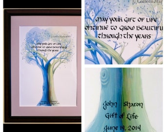 Organ Transplant Tree of Life - Personalized for an Organ Transplant Recipient