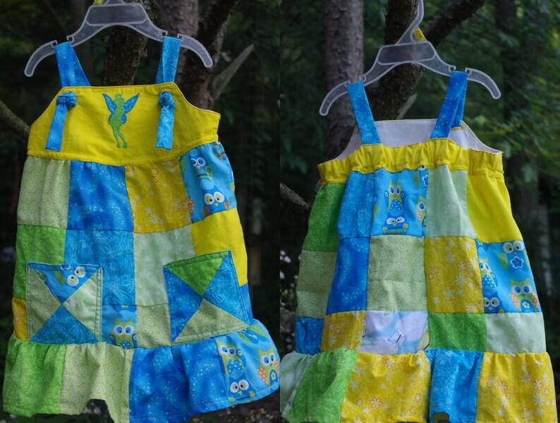 d641d303ac5e Custom Order Girl Toddler Jumper Knot Dress with grow pleats