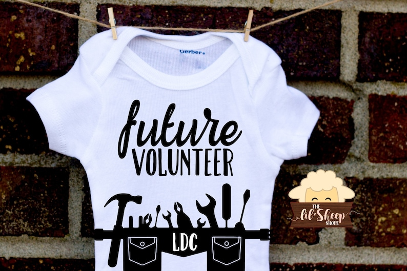 Future Volunteer ONESIES® /Bodysuit/ Baby gift/ Baby shower/Infant/Baby  Clothing /JW/Ministry clothes/ Coming Home Outfit