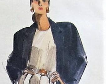 5618bd9922d55 Jacket and Pants Sewing Pattern UNCUT Vogue 2391 Sizes 18-22 Plus Size