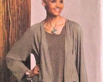 ce0587f2bba97 Jacket   Dress Sewing Pattern UNCUT Vogue Woman V8474 Sizes 16-24 Plus Size