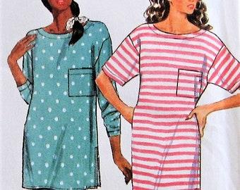 Pajamas and Nightshirt Sewing Pattern UNCUT Butterick 4749 Sizes 6-22 018507611