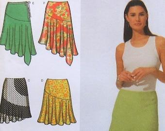 04d73d8d42685 Skirt Sewing Pattern UNCUT Simplicity 5005 Sizes 14-20 Plus Size