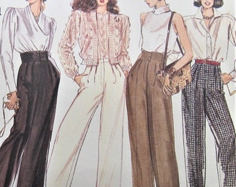 1d7510c087b4c Pants Sewing Pattern UNCUT Vogue 2206 Sizes 18-22 Plus Size