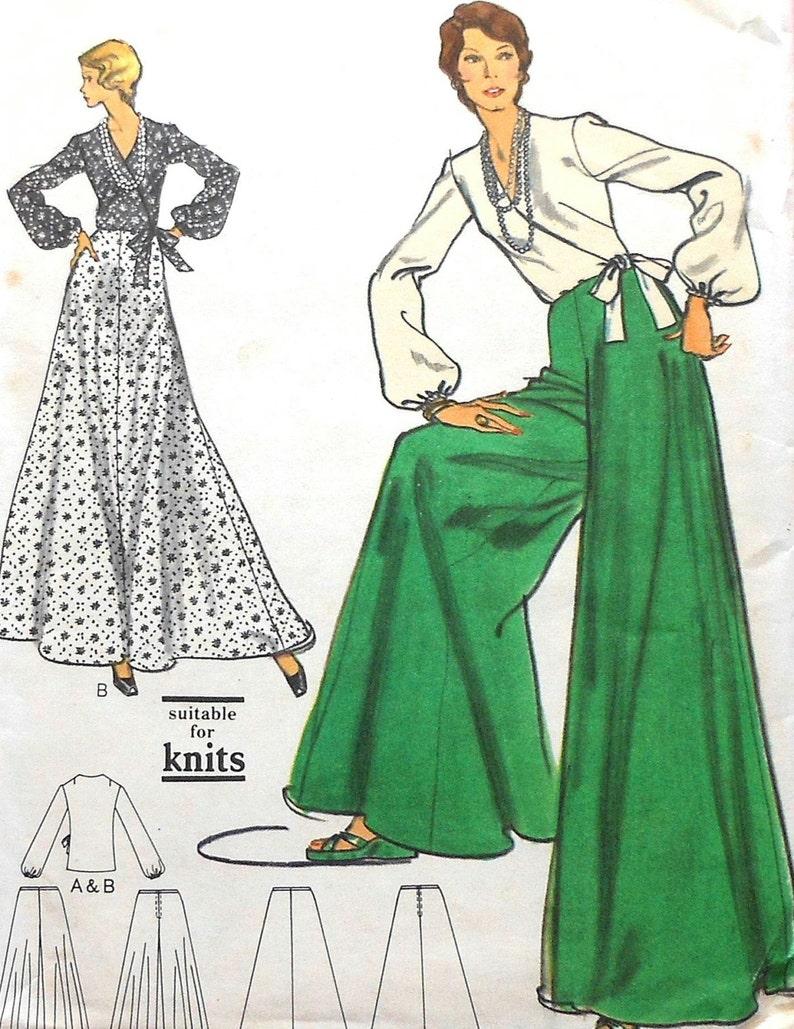 c391f3db50ace Pantskirt Sewing Pattern UNCUT Vogue 8433 Size 10