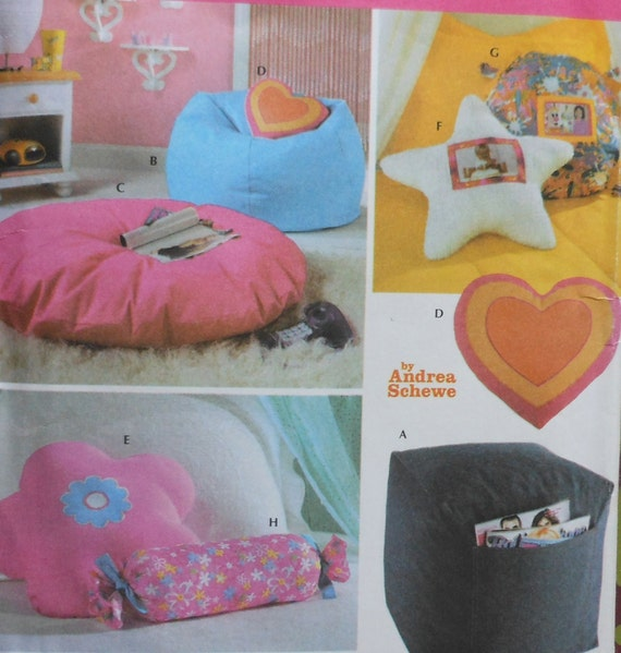 Teen Room Accessories Sewing Pattern Uncut Simplicity 5105 Etsy