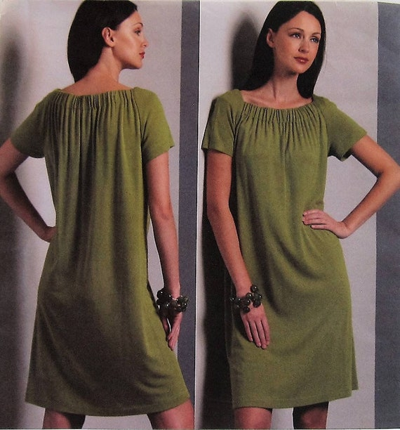 c95471fc5edd6 Dress Sewing Pattern UNCUT Vogue V1091 Sizes 18-24 Plus Size | Etsy