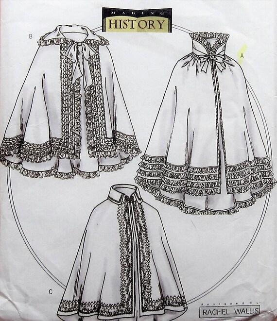 Cloak Sewing Pattern UNCUT Butterick B4419 Sizes 16-22 costume | Etsy