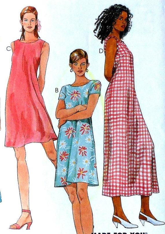 Sundress Sewing Pattern UNCUT McCalls 40 Sizes 4040 Etsy Inspiration Sundress Sewing Pattern
