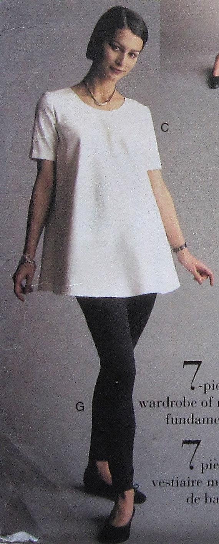 f114da5a41b7d Maternity Dress and Tunic Sewing Pattern UNCUT Vogue 9277 Sizes 12-16