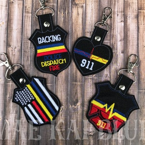 Lanyard  FREE SHIPPING! First Responders Combination EMTFire Dept