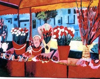 Romanian Flower Market