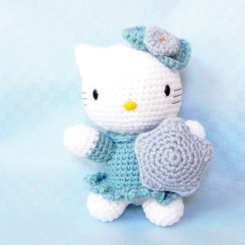 Tiny kitty cat amigurumi pattern - Amigurumi Today | 794x794