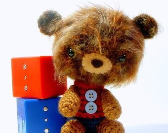 Bear brother - Crochet Amigurumi doll / toy pattern / PDF