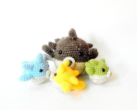 Leeses Pieces Crochet: Pug Amigurumi Crochet Pattern | 459x570