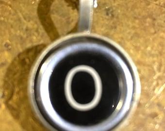 O Typewriter Key Pendant