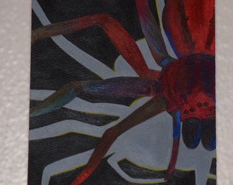 Acrylic Painting - Original Art - Spider