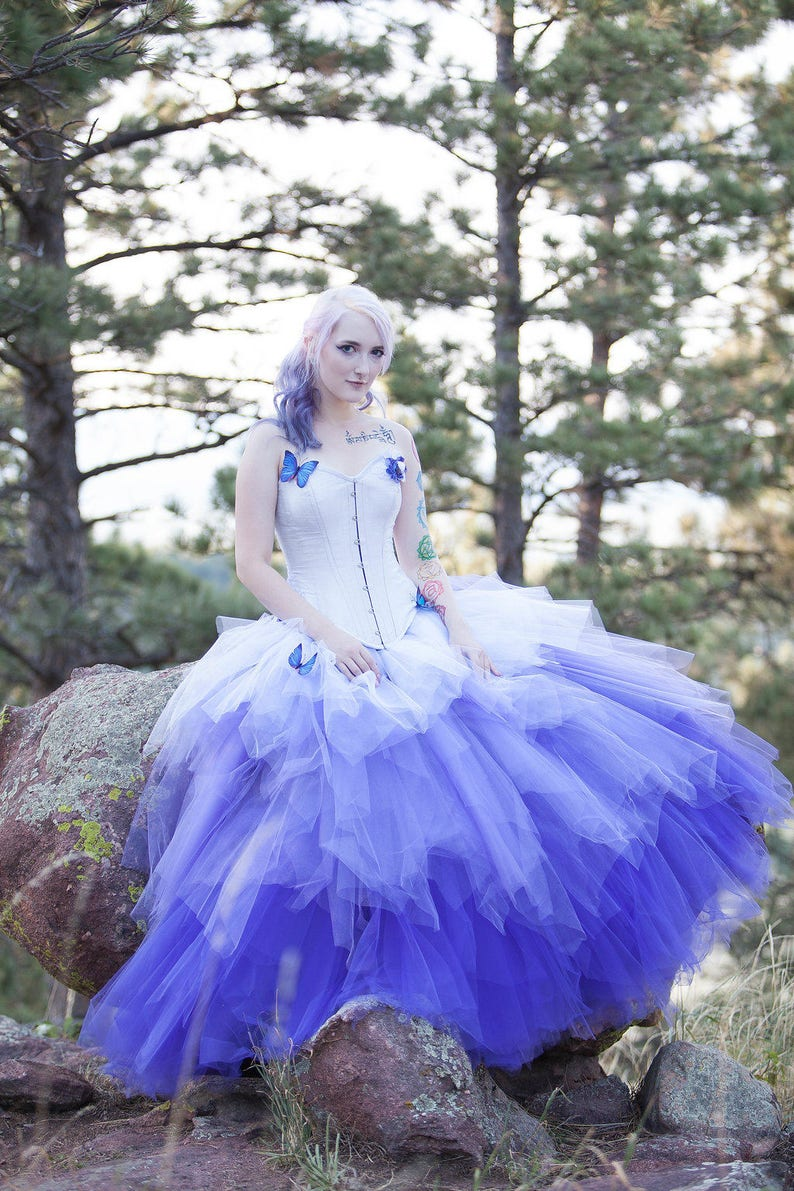 Image 0: Pastel Goth Wedding Dresses At Reisefeber.org