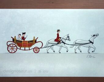 Royal Wedding print (11x17)