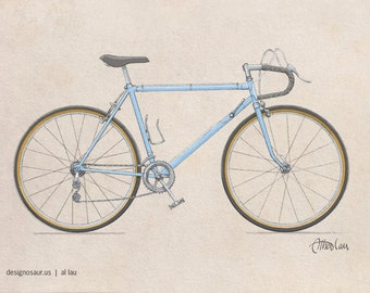 Classic 10-Speed Bicycle (8 x 10)