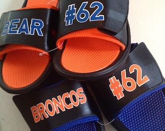Custom slide sandals DISCONTINUED