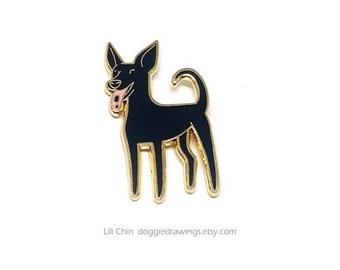 Neopren Schlüsselanhänger Schlüsselband Pudel Hundeführer Hund Dog Hunderasse Ra