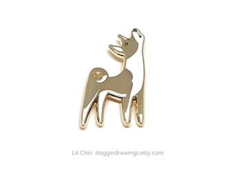 Basenji - Dog Enamel Pin