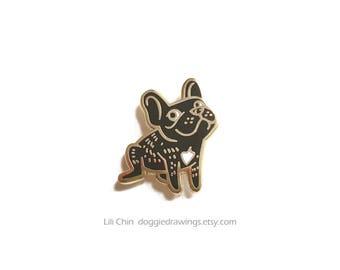 French Bulldog - Dog Enamel Pin