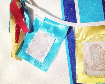 Buddha Prayer Flag by Oversoul