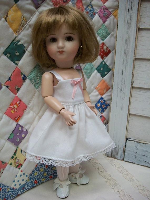 "Undies  Bleuette Friend Pinafore 9/"" Loulotte Wardrobe  PATTERN  #2  Dresses"