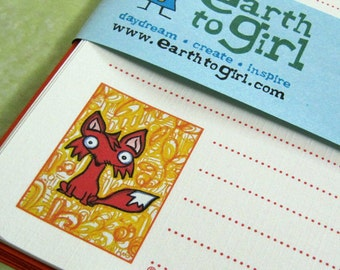 Little Red Fox Stationery Set
