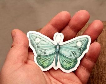 Taqalakisaq- Butterfly - Alaska Native Inupiaq Art Sticker