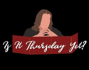 Is It Thursday Yet? - Matthew Mercer Critical Role T-Shirt - D&D DM's Gift
